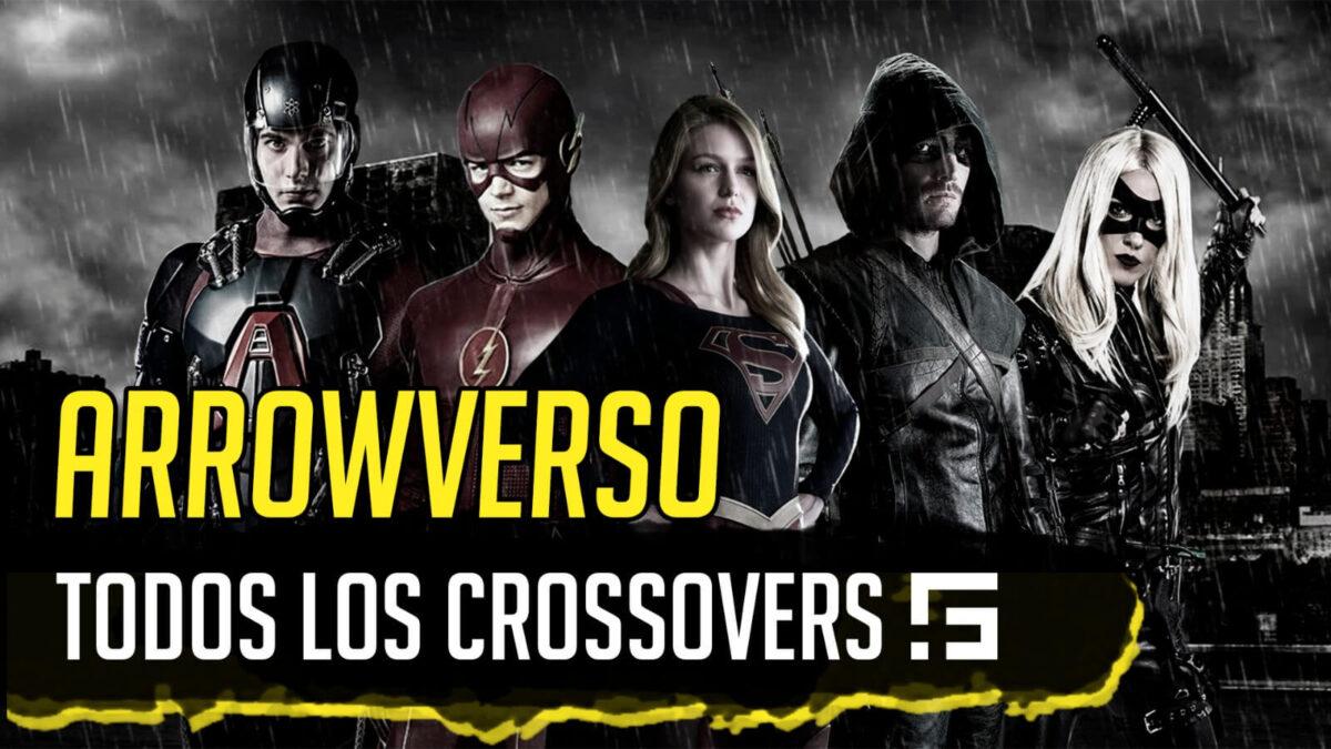 todos los crossovers del arrowverso