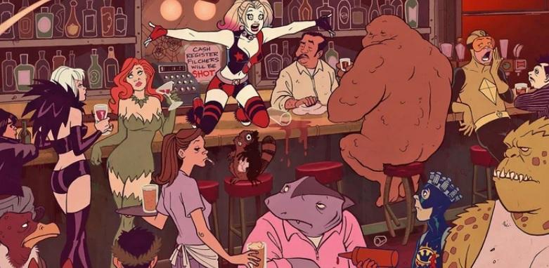Harley Quinn Animada