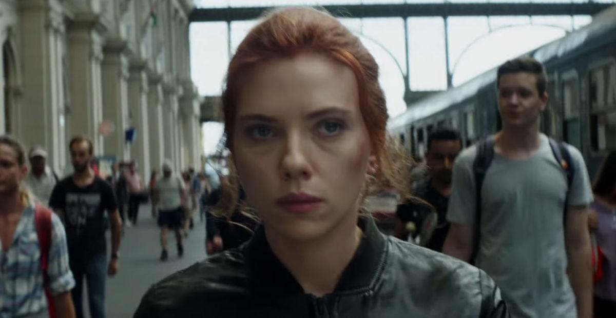 Escena del tráiler de Black Widow