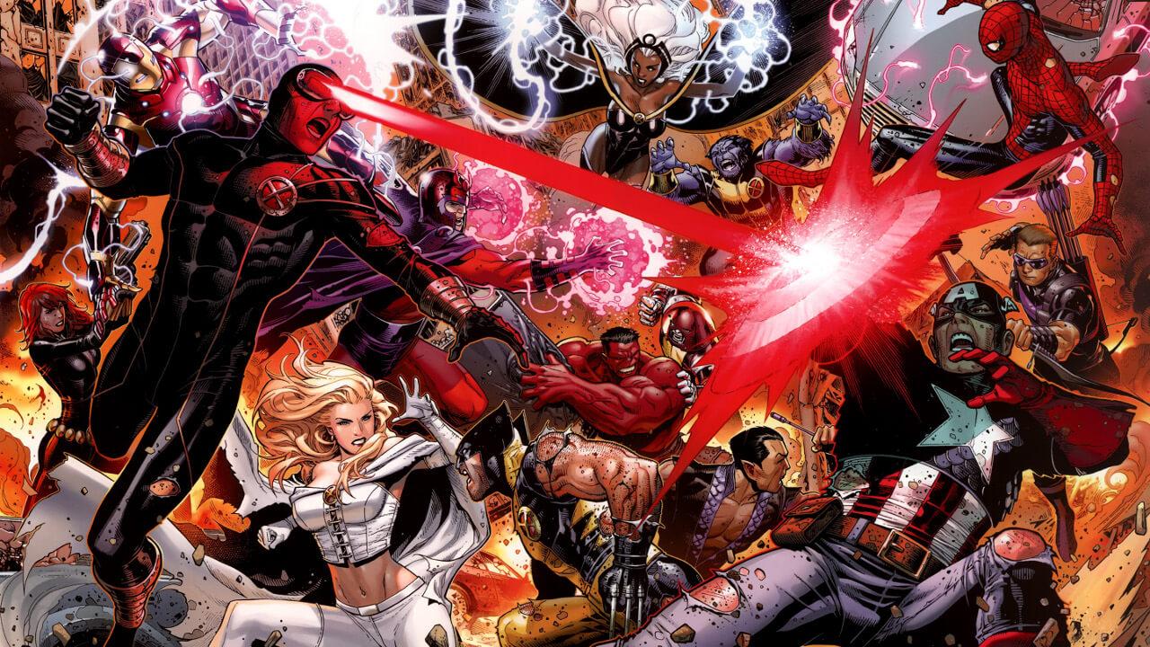 Podríamos de nuevo a los vengadores versus los X-Men