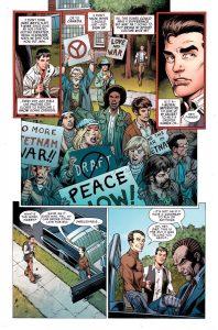 Página del primer número de Spider-Man Toda Una Vida