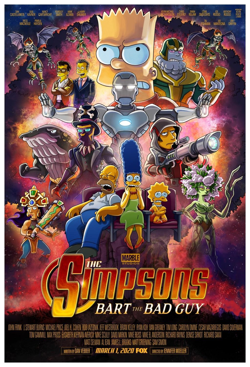 Póster del nuevo episodio de Los Simpsons