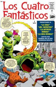 Marvel Facsímil Los 4 Fantásticos