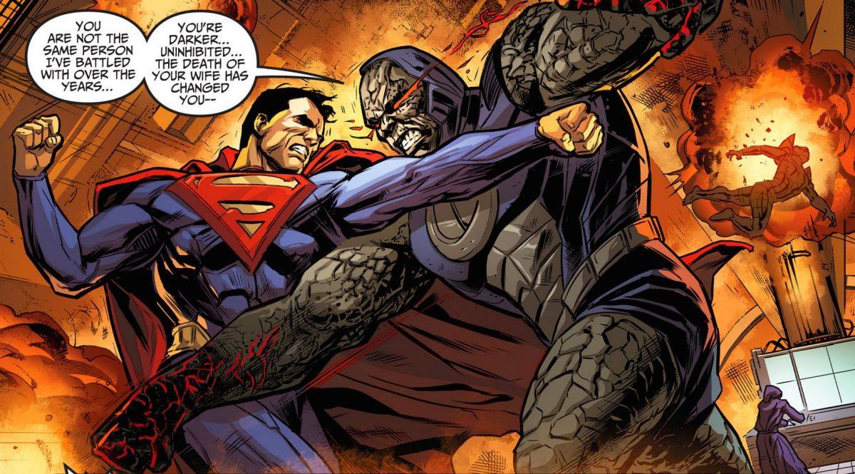 Superman Vs Darkseid y 5 batallas en las que cayó el hombre de acero