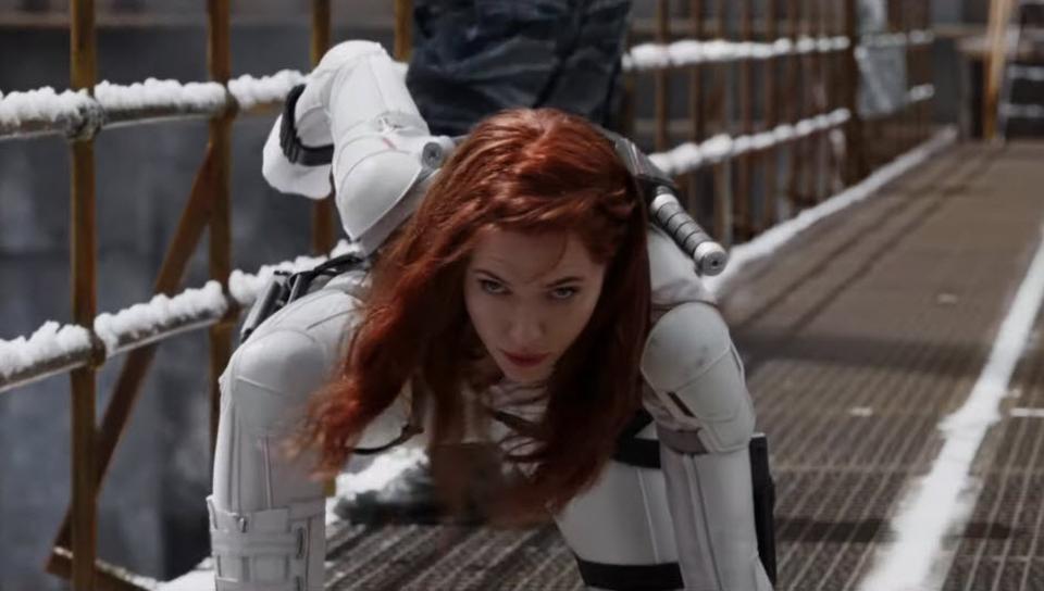 Imagen del tráiler de Black Widow