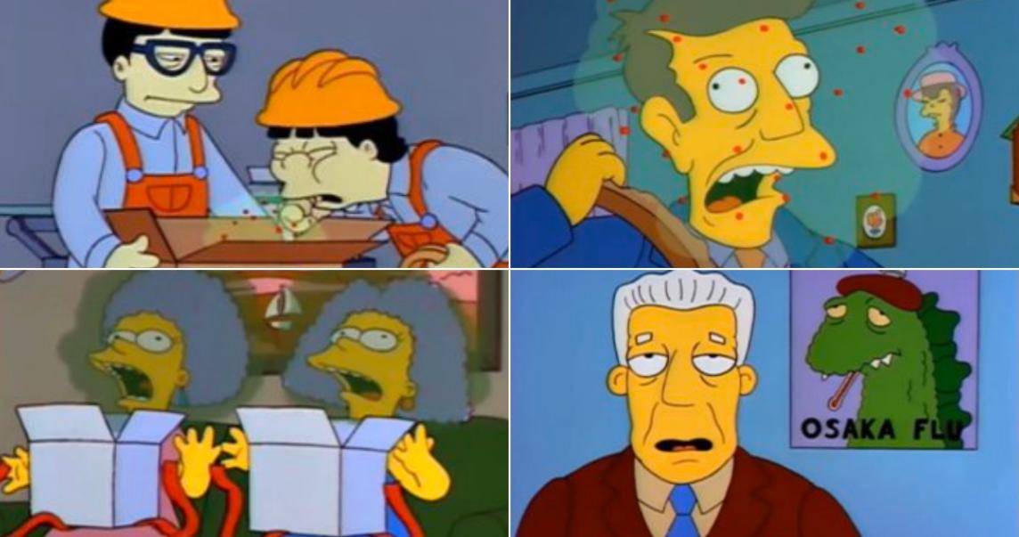 Los Simpsons Coronavirus