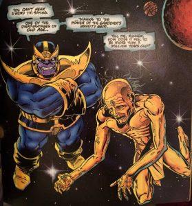 Thanos con El Corredor