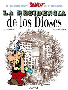 portada de Astérix La Residencia de los Dioses