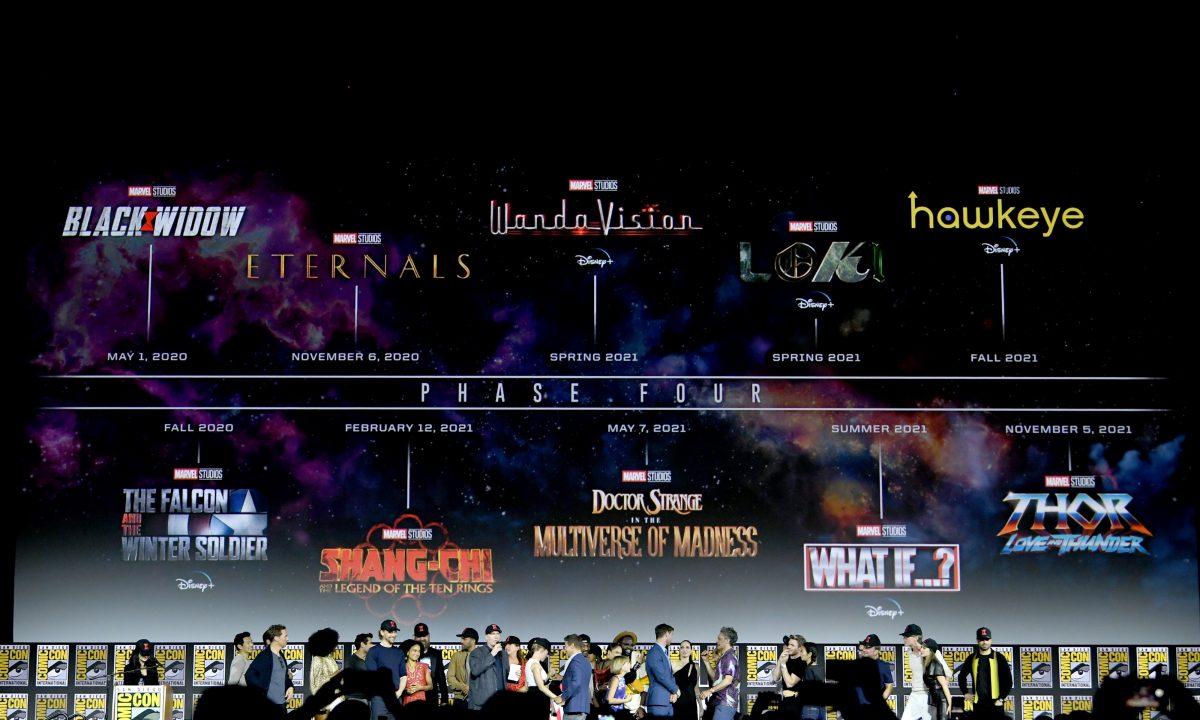 Presentación de la Fase 4 de Marvel Studios