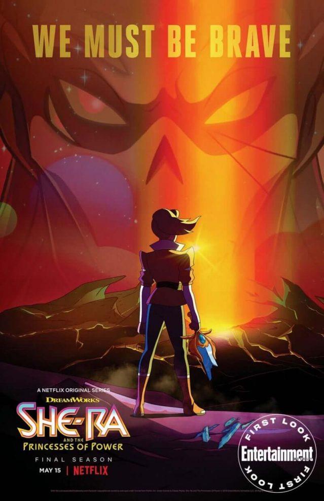She-Ra y las princesas del poder teminarán en su quinta temporada