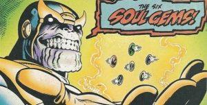 Thanos consigue las seis gemas del infinito