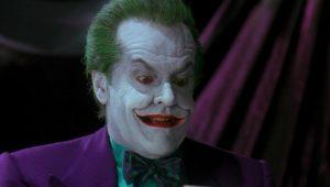 Jack Nicholson en Batman como el Joker