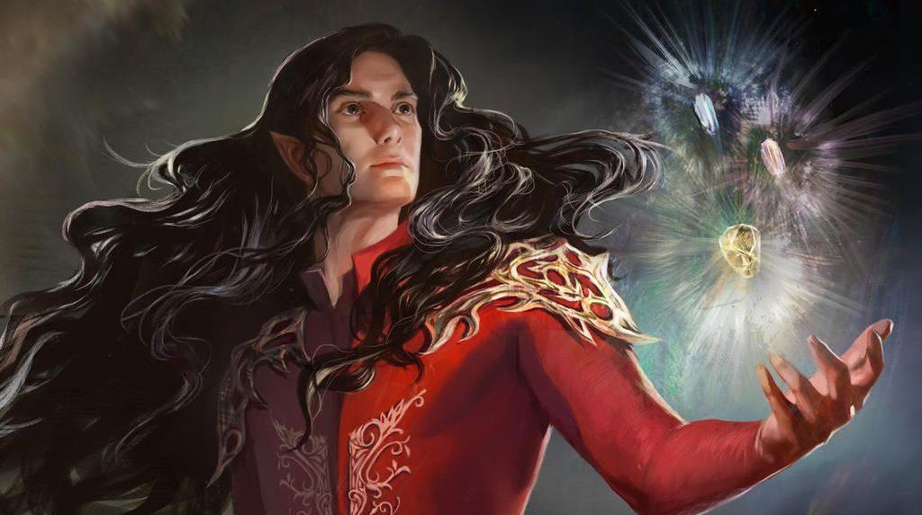 Fëanor con los Silmaril