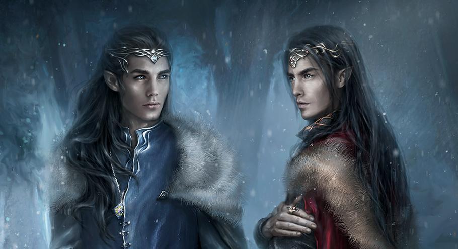 Fëanor y Fingolfin