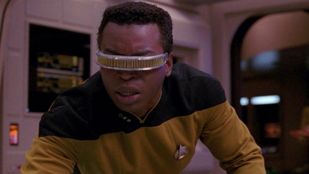LeVar Burton en Star Trek: La Nueva Generación