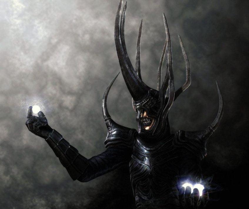 Melkor con los Silmaril