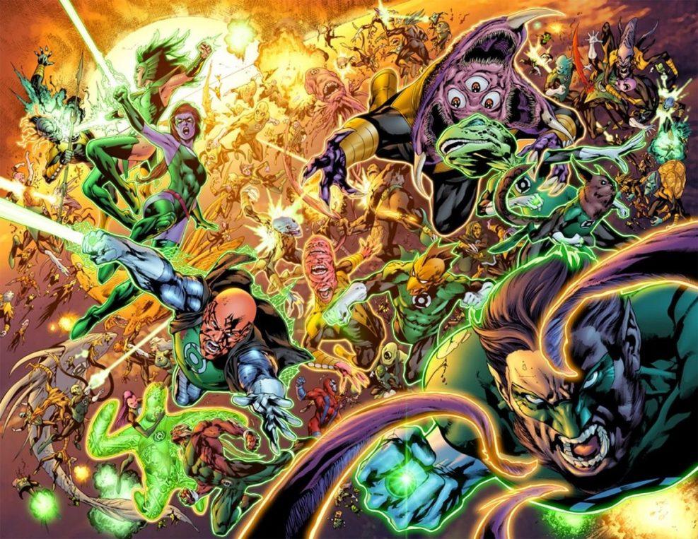 La ira del primer Lantern