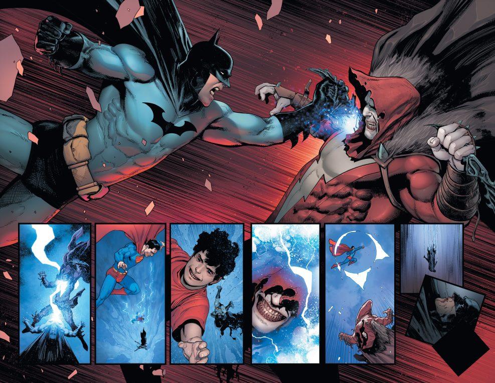 Shazam versus Batman y Superman