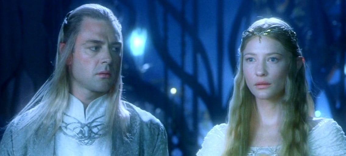 Galadriel y Celeborn