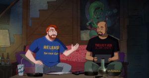 Los showrunner de Harley Quinn explican el por qué de la polémica escena del Snyder Cut en su serie.
