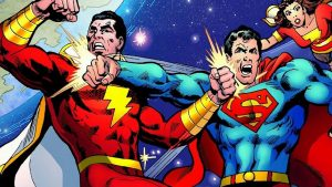 Shazam versus Superman