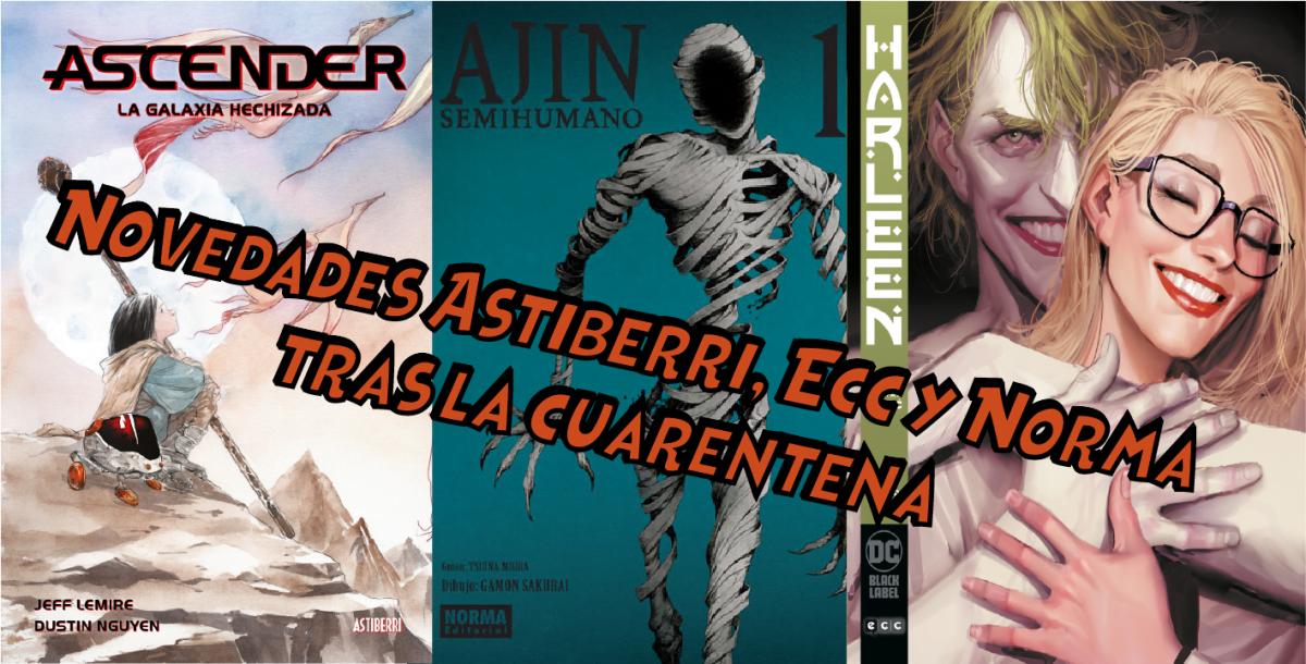 Novedades Astiberri, ECC y Norma