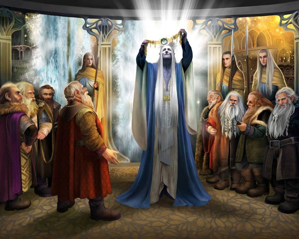 Thingol y los enanos