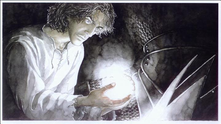 Beren con el Silmaril