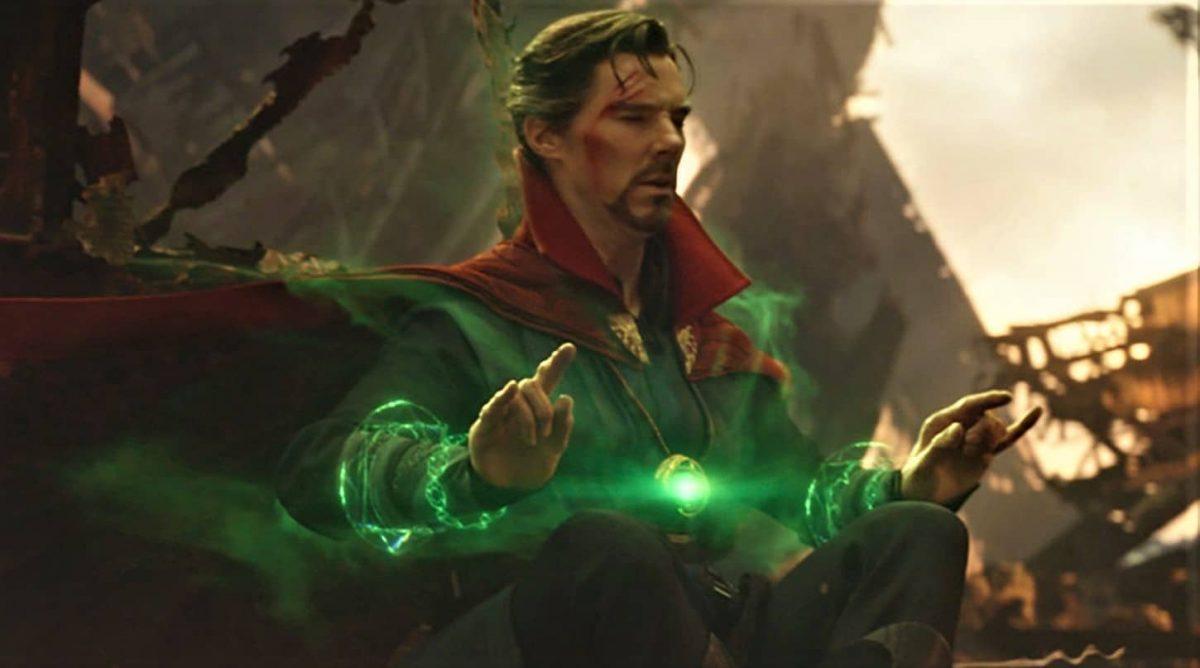 Doctor Strange viendo el futuro
