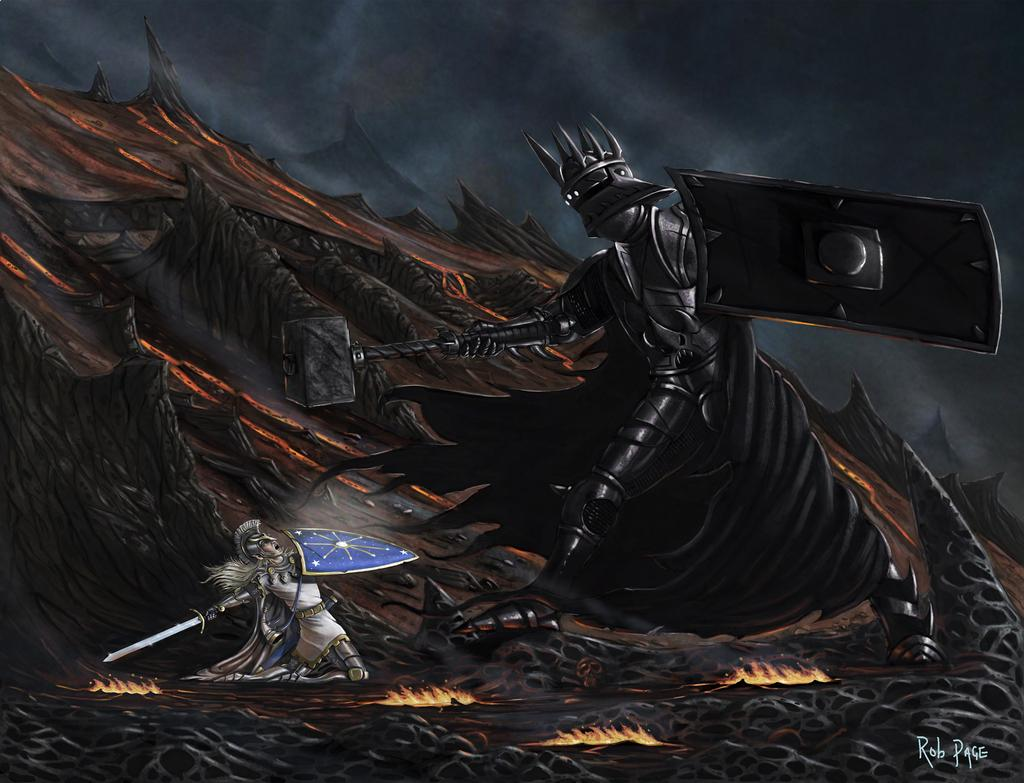 Fingolfin contra Morgoth
