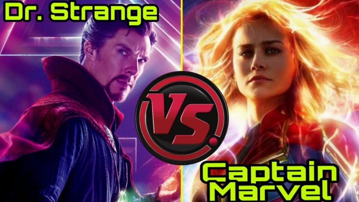 Doctor Strange vs Capitana Marvel