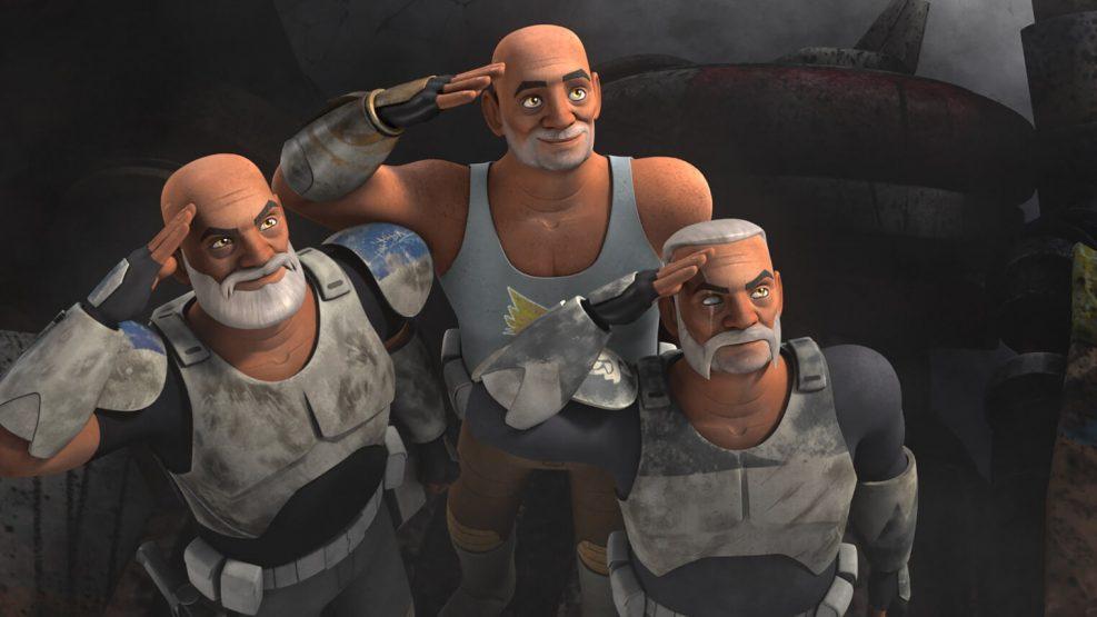 Rex, Gregor y Wolffe