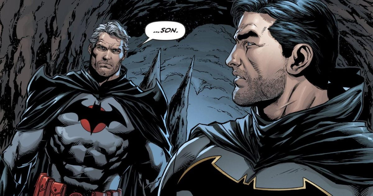 Thomas Wayne es Batman y conoce a Bruce Wayne