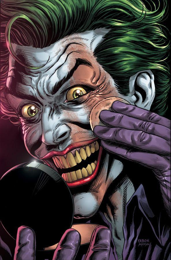Portada Variante de Batman: Three Jokers