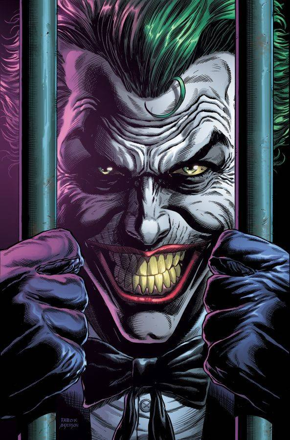 Portada Variante Batman: Three Jokers