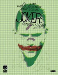 Joker sonrisa asesina novedades grapas dc