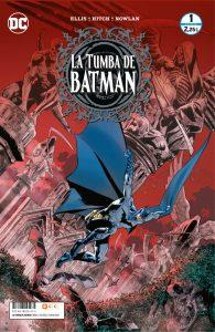 La Tumba de Batman NOvedades grapas DC