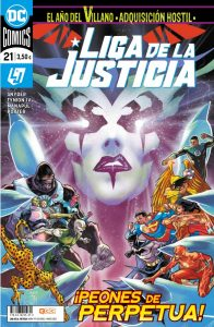 Liga de la justicia 21 grapas DC