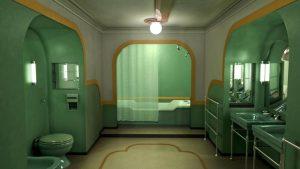 Escena de la bañera en El Resplandor