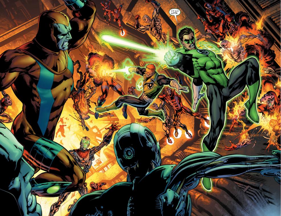 La Venganza de los Green Lanterns