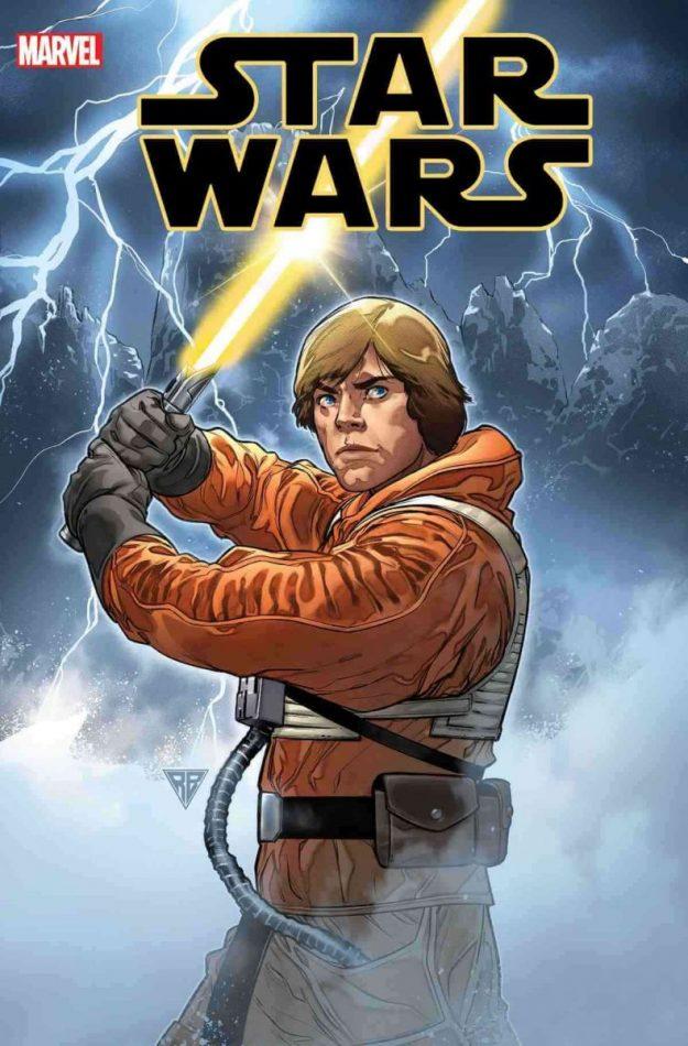 Luke Skywalker sable amarillo
