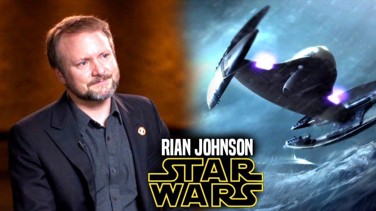 Rian Johnson trilogía Star Wars