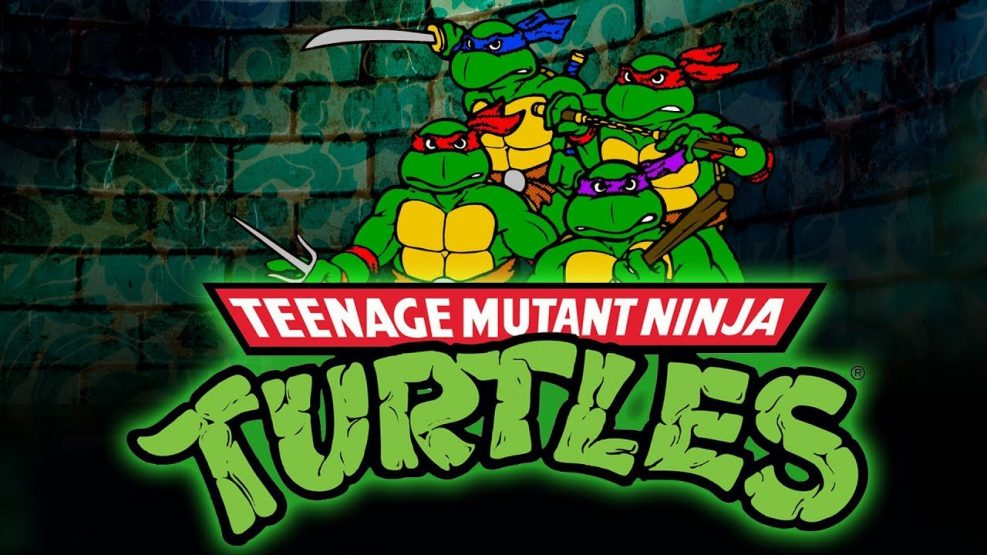 Tortugas Ninja animación
