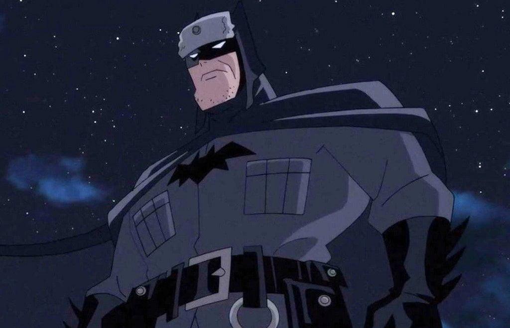 Versión alternativa de Batman en la película animada Superman: Red son
