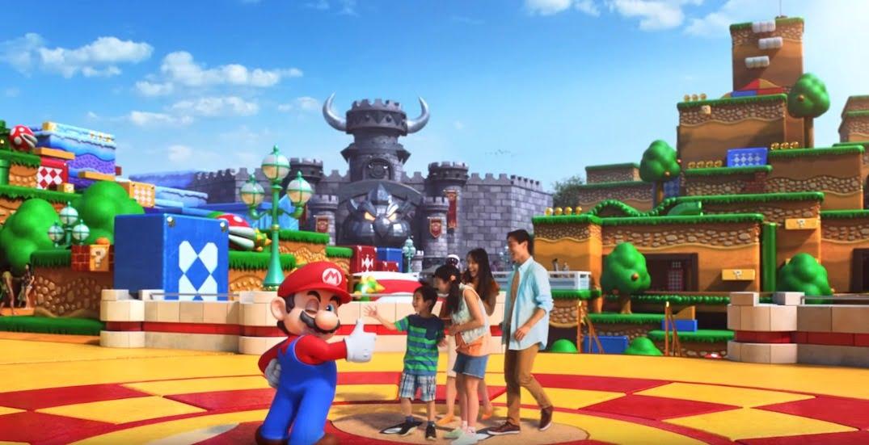 Universal Studios Japón Mario