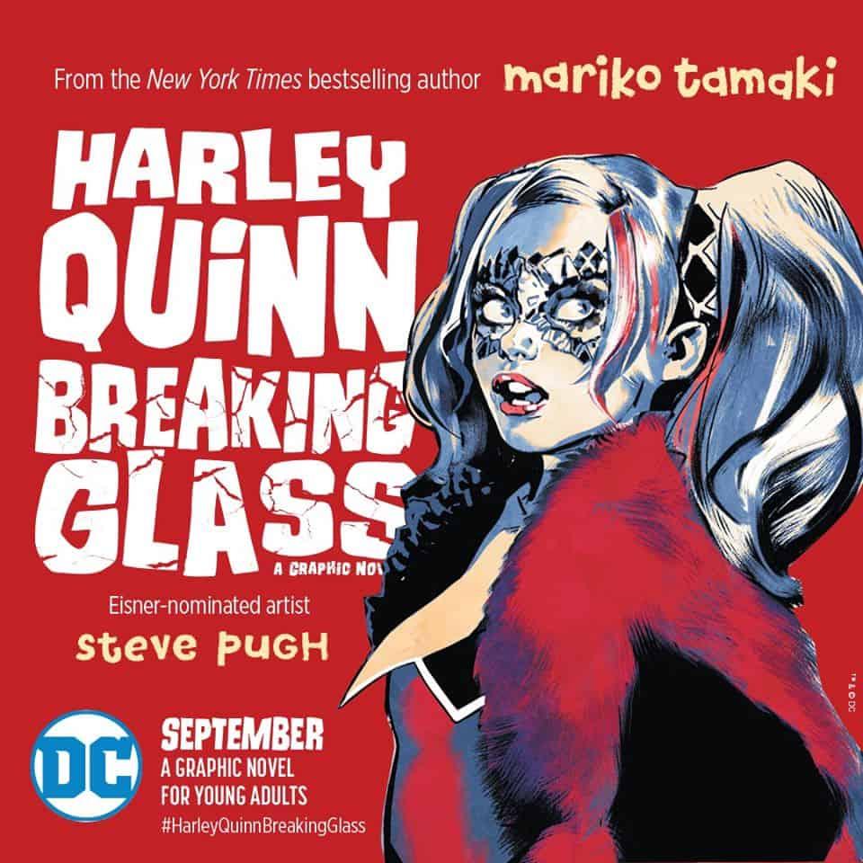 Harley Quinn Cristales Rotos