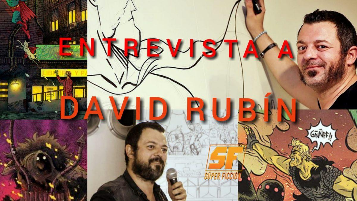 Entrevista a David Rubín