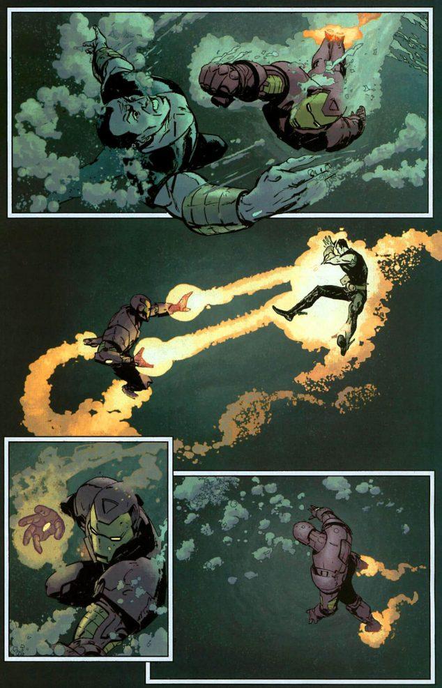 Iron Man vs Namor
