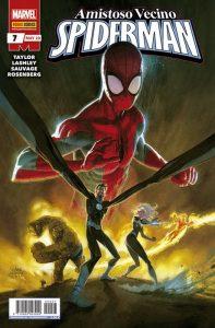 Amistoso y Vecino Spiderman