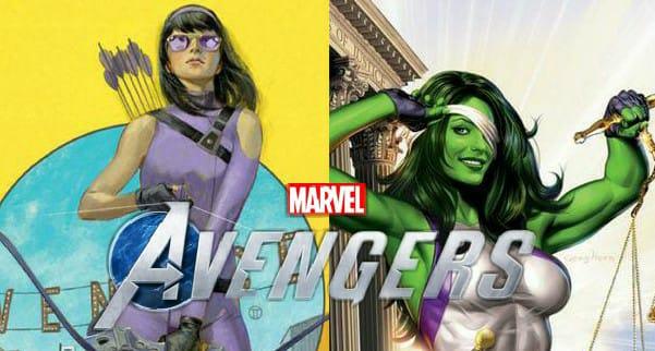 Marvel Avengers She Hulk Kate Bishop